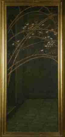 Briar Rose Infill Panel - Left of the Garden Court