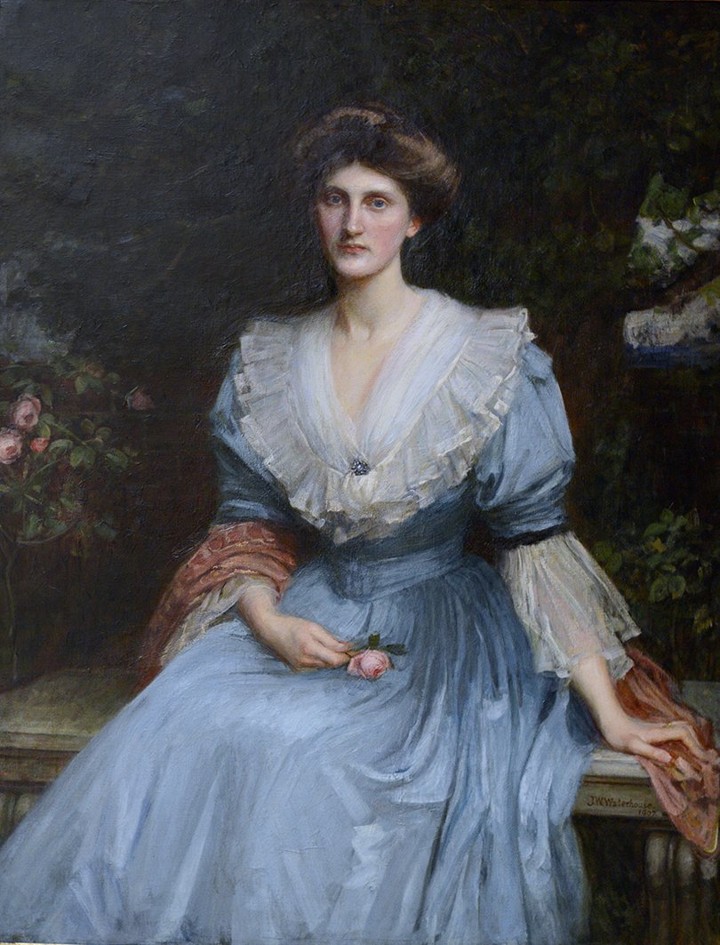 Portrait of Lady Violet Henderson