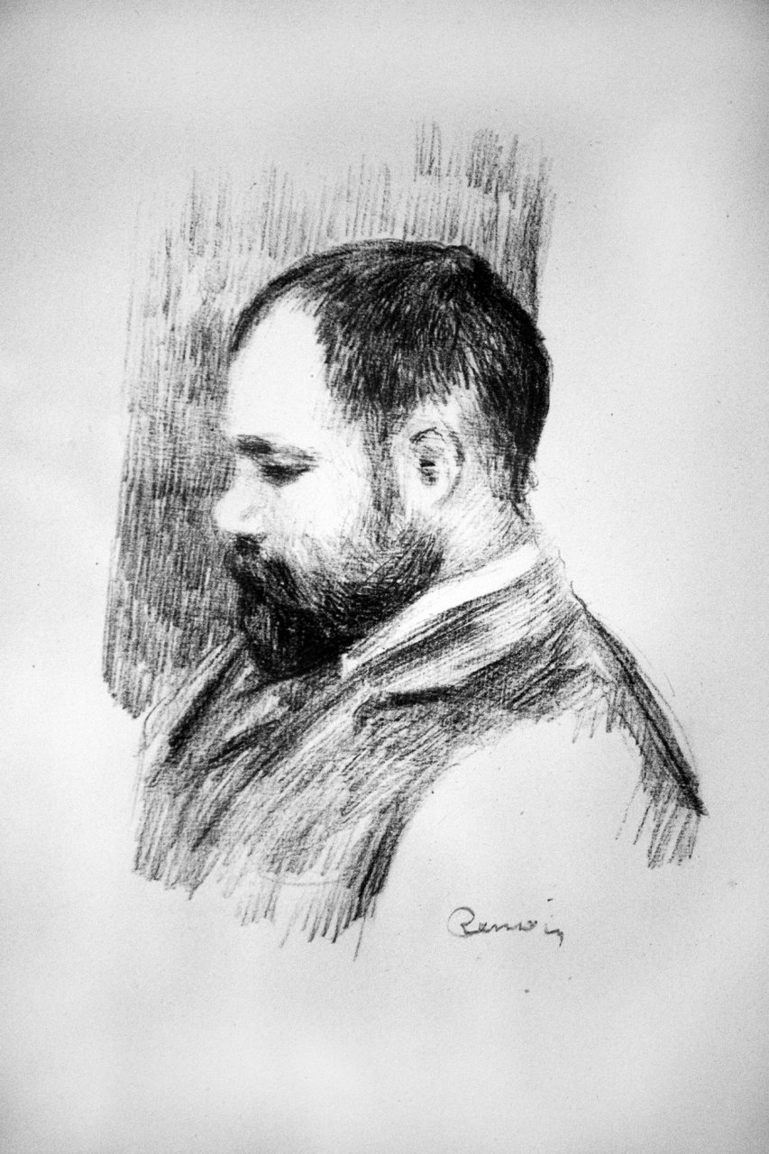 From a suite of 12 lithographs by Renoir made between 1904 and 1905, published by Ambroise Vollard in 1919