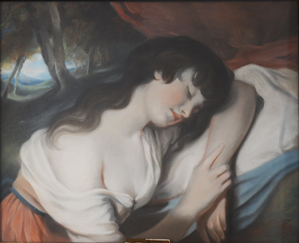 A Girl Asleep
