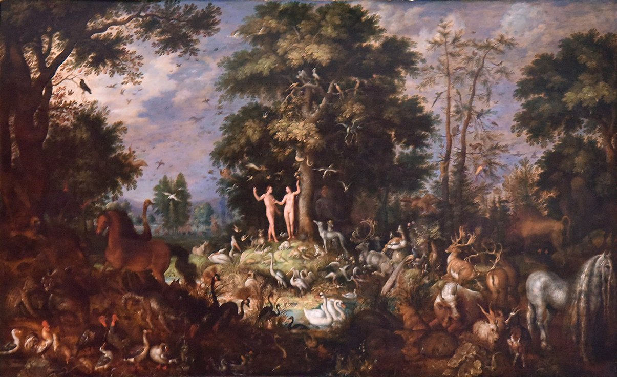 Oil on panel, 31 ins by 52 1/2 ins. Signed: ROELANDT/SAVERY EX and dated 1620. There is an added signature on the l.r.