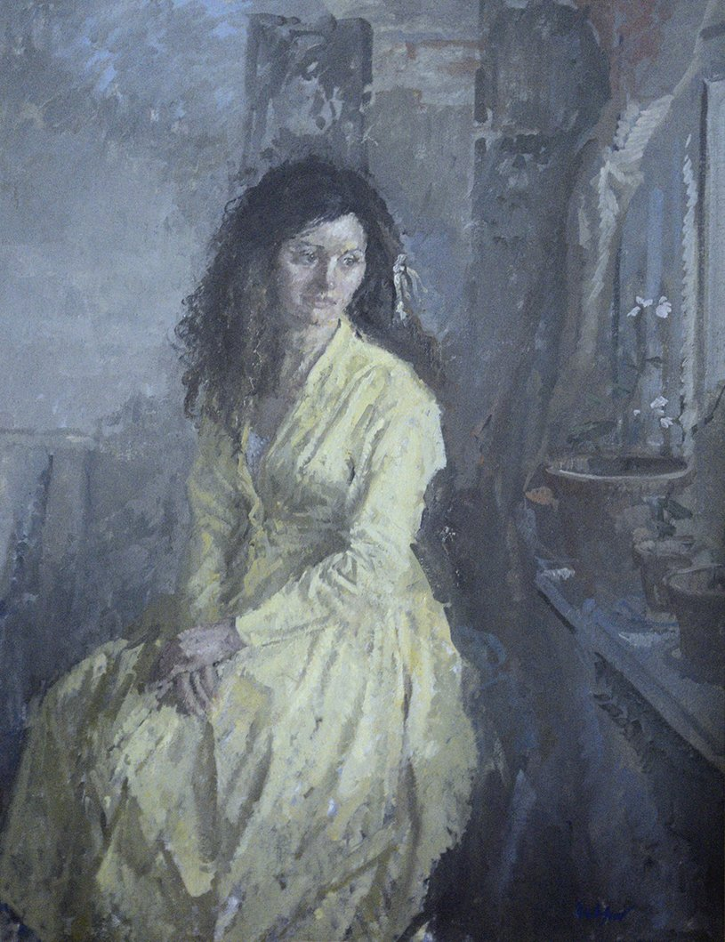 Signed l.r. Kuhlfeld. Oil on board. 20 1/2 ins by 14 1/2 ins