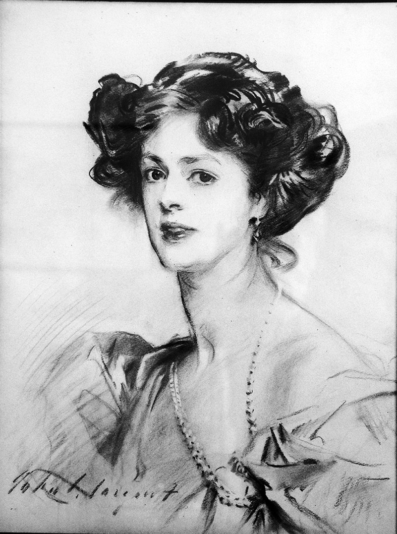 Portrait Study of Lady Norah Brassey