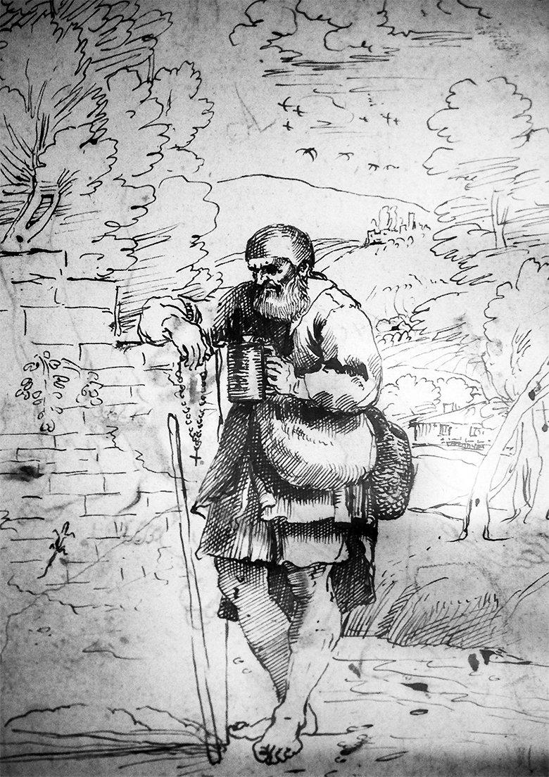A Pilgrim in a Landscape