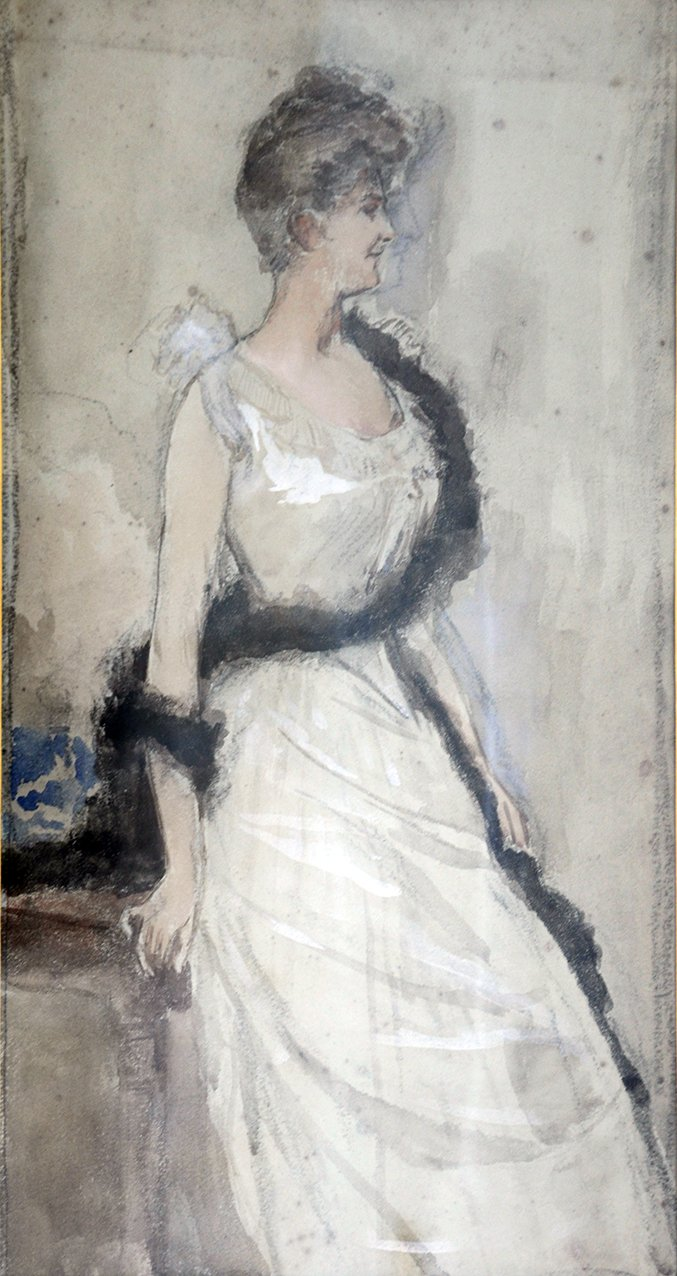 (For a portrait of La Vicomtesse de Montmorand)