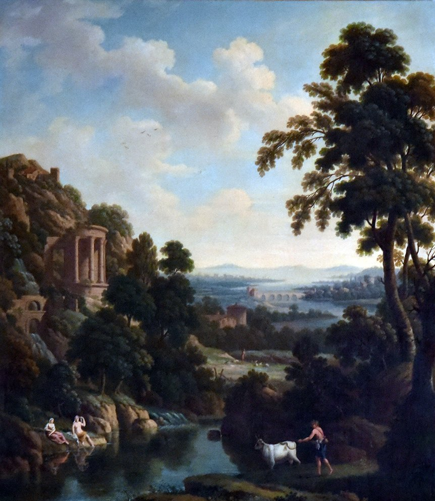 Classical Landscape with Temple of the Sybil