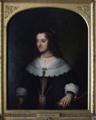 An Unknown Woman (No.31) by Follower of Rembrandt