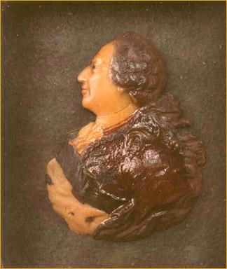 Portrait in Relief of Louis XVI