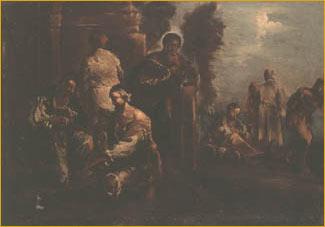 2/5 Scenes of Mendicancy and Almsgiving