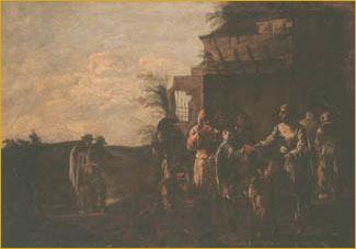 4/5 Scenes of Mendicancy and Almsgiving