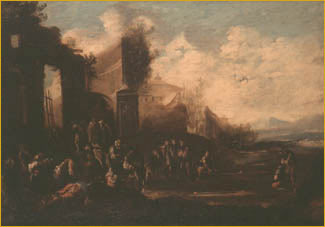 5/5 Scenes of Mendicancy and Almsgiving