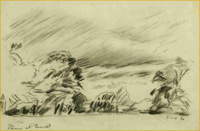 Storm at Buscot, 1968