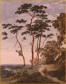 Hilltop Landscape With Figure
