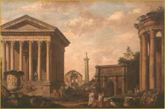 Capriccio of Roman Ruins