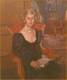 Portrait of the 3rd Lady Faringdon