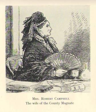 Mrs Robert Campbell (image from 'Death at the Priory' by James Ruddick)