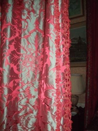 The curtains, post restoration