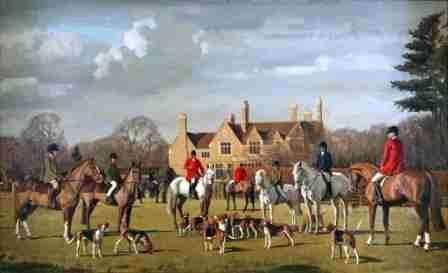 The Belvoir Hunt (No.128) by Charles Church