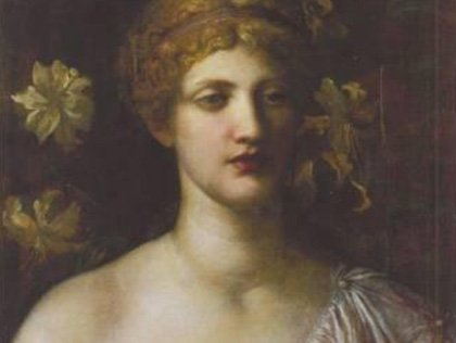 The Wife of Pygmalion (No.90) by George Frederic Watts, OM RA