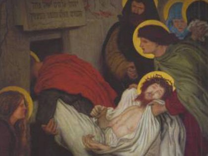 The Entombment (No.94) by Ford Madox Brown