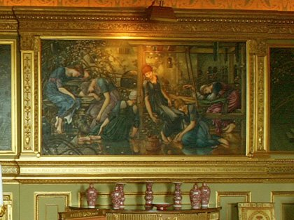 The Briar Rose Series: the Garden Court (No.35) by Sir Edward Coley Burne-Jones, Bt., A.R.A.