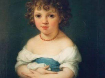 Portrait of Miss Elizabeth Temple As a Child (No.12) by Angelica Kauffmann, RA