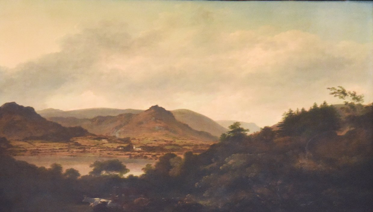 View of Grasmere (No.8) by Julius Caesar Ibbetson